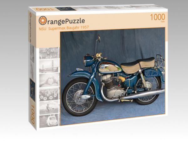 "Puzzle Motiv ""NSU  Supermax Baujahr 1957"" - Puzzle-Schachtel zu 1000 Teile Puzzle"