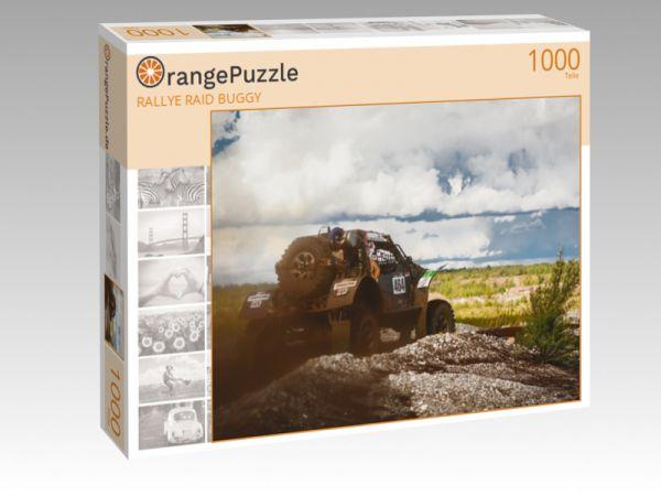 """Puzzle Motiv """"RALLYE RAID BUGGY"""" - Puzzle-Schachtel zu 1000 Teile Puzzle"""