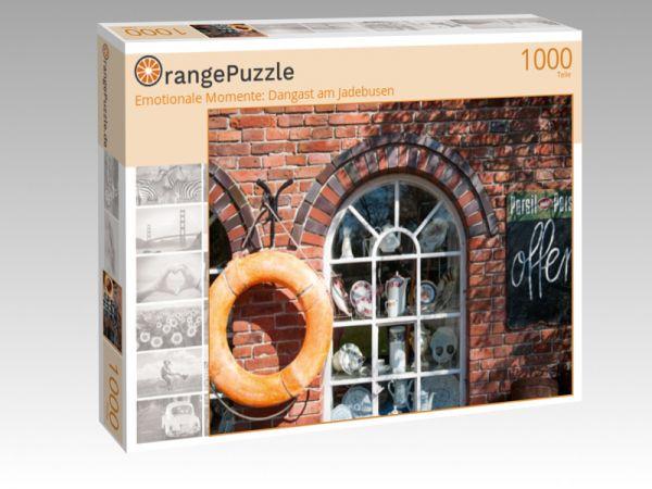 """Puzzle Motiv """"Emotionale Momente: Dangast am Jadebusen"""" - Puzzle-Schachtel zu 1000 Teile Puzzle"""