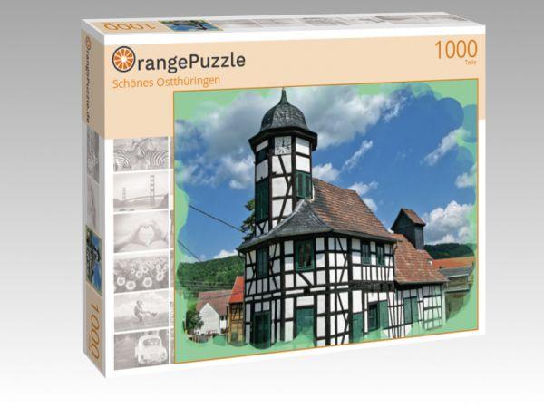 """Puzzle Motiv """"Schönes Ostthüringen"""" - Puzzle-Schachtel zu 1000 Teile Puzzle"""