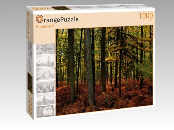 """Puzzle Motiv """"Hexenwald"""" - Puzzle-Schachtel zu 1000 Teile Puzzle"""