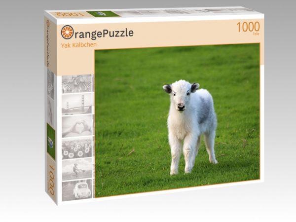 "Puzzle Motiv ""Yak Kälbchen"" - Puzzle-Schachtel zu 1000 Teile Puzzle"
