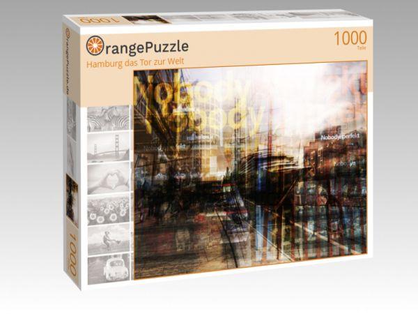 """Puzzle Motiv """"Hamburg das Tor zur Welt"""" - Puzzle-Schachtel zu 1000 Teile Puzzle"""