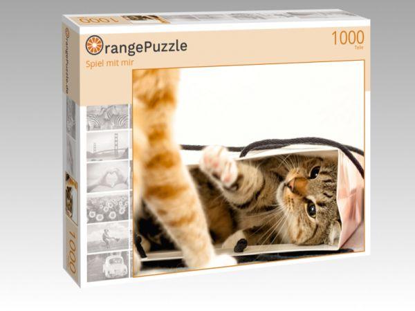 """Puzzle Motiv """"Spiel mit mir"""" - Puzzle-Schachtel zu 1000 Teile Puzzle"""