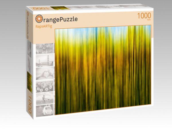 """Puzzle Motiv """"RapsARTig"""" - Puzzle-Schachtel zu 1000 Teile Puzzle"""