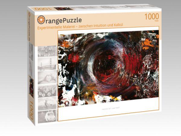 """Puzzle Motiv """"Experimentelle Malerei – zwischen Intuition und Kalkül"""" - Puzzle-Schachtel zu 1000 Teile Puzzle"""