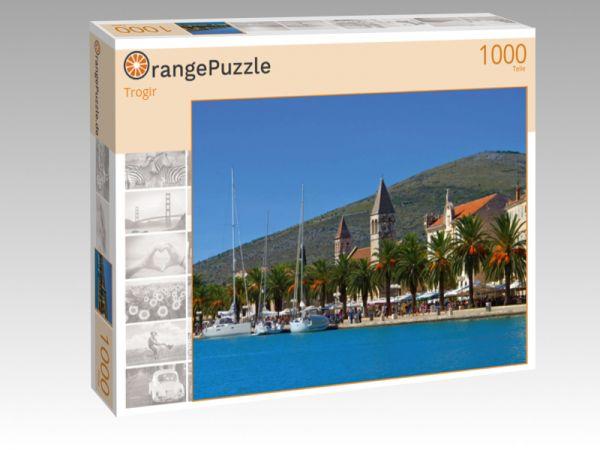 """Puzzle Motiv """"Trogir"""" - Puzzle-Schachtel zu 1000 Teile Puzzle"""
