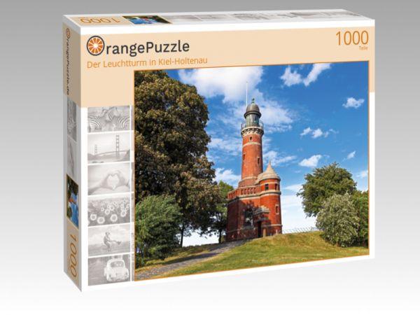 """Puzzle Motiv """"Der Leuchtturm in Kiel-Holtenau"""" - Puzzle-Schachtel zu 1000 Teile Puzzle"""