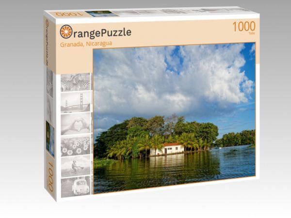 "Puzzle Motiv ""Granada, Nicaragua"" - Puzzle-Schachtel zu 1000 Teile Puzzle"