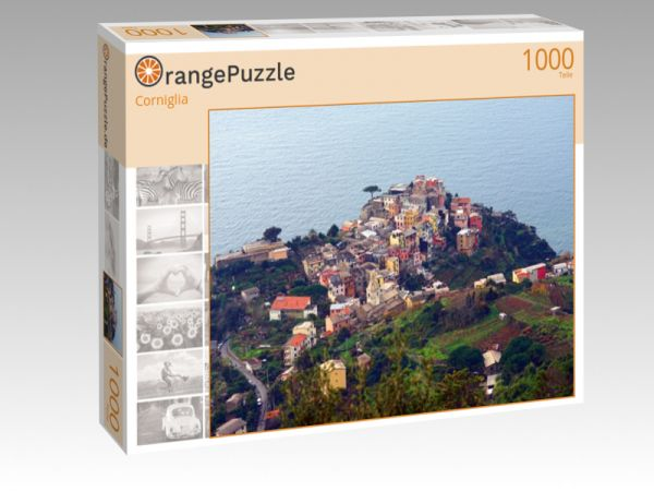"Puzzle Motiv ""Corniglia"" - Puzzle-Schachtel zu 1000 Teile Puzzle"