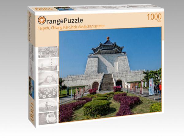 "Puzzle Motiv ""Taipeh, Chiang Kai-Shek-Gedächtnisstätte"" - Puzzle-Schachtel zu 1000 Teile Puzzle"