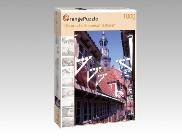 """Puzzle Motiv """"Historische Krameramtsstuben"""" - Puzzle-Schachtel zu 1000 Teile Puzzle"""