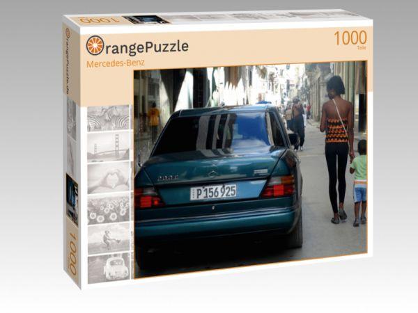 """Puzzle Motiv """"Mercedes-Benz"""" - Puzzle-Schachtel zu 1000 Teile Puzzle"""