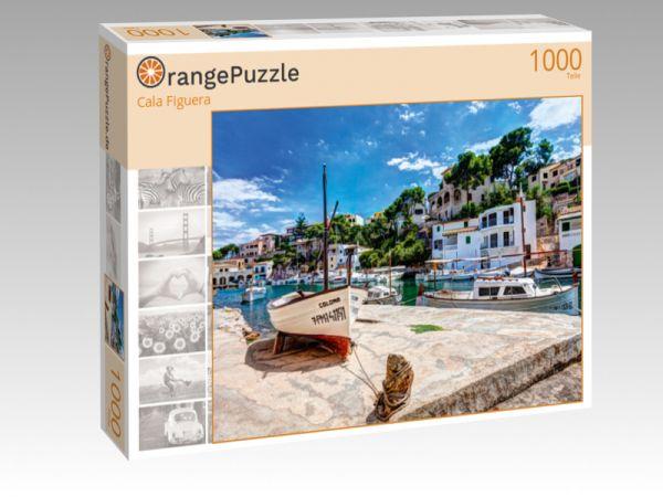 """Puzzle Motiv """"Cala Figuera"""" - Puzzle-Schachtel zu 1000 Teile Puzzle"""