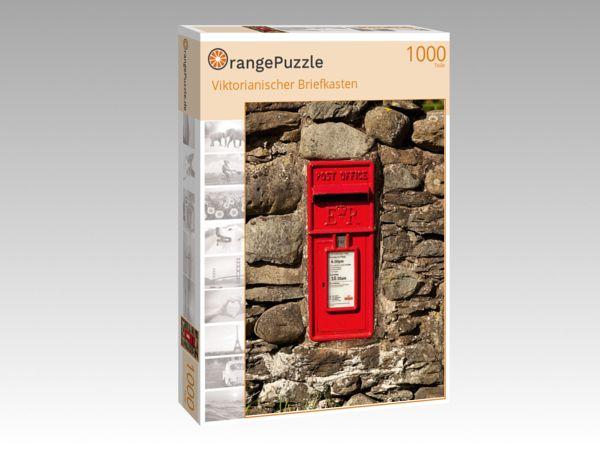 """Puzzle Motiv """"Viktorianischer Briefkasten"""" - Puzzle-Schachtel zu 1000 Teile Puzzle"""
