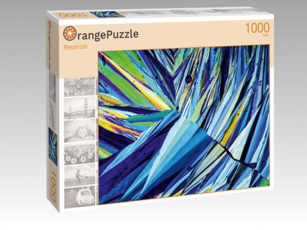 """Puzzle Motiv """"Resorcin"""" - Puzzle-Schachtel zu 1000 Teile Puzzle"""