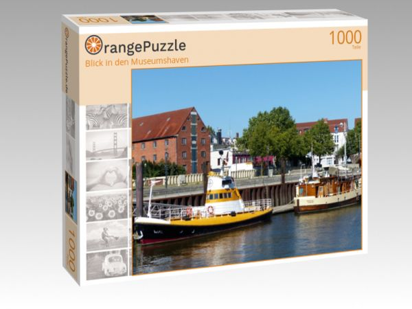 """Puzzle Motiv """"Blick in den Museumshaven"""" - Puzzle-Schachtel zu 1000 Teile Puzzle"""