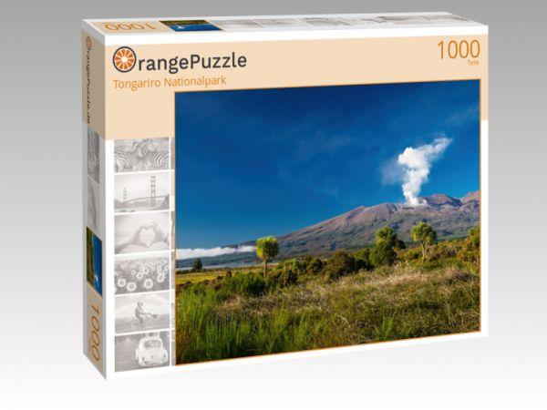 "Puzzle Motiv ""Tongariro Nationalpark"" - Puzzle-Schachtel zu 1000 Teile Puzzle"