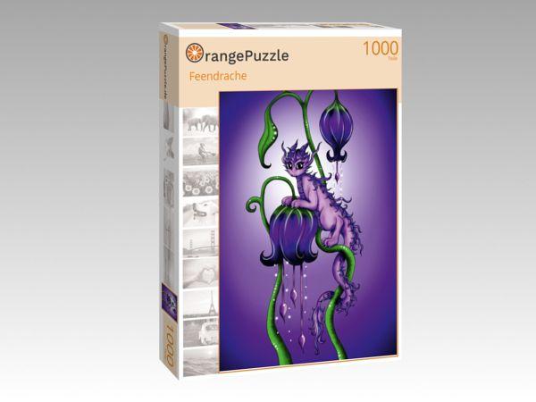 """Puzzle Motiv """"Feendrache"""" - Puzzle-Schachtel zu 1000 Teile Puzzle"""