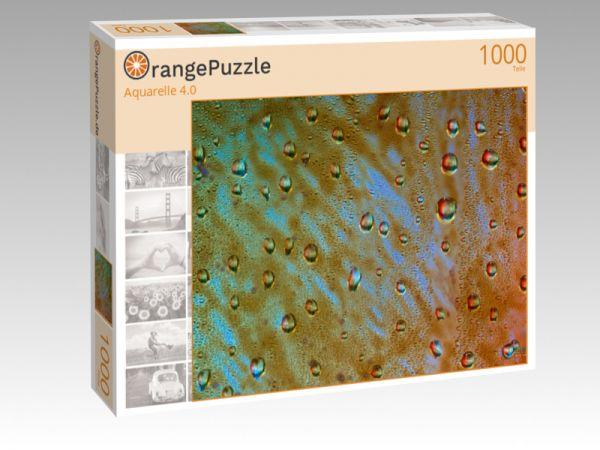 """Puzzle Motiv """"Aquarelle 4.0"""" - Puzzle-Schachtel zu 1000 Teile Puzzle"""