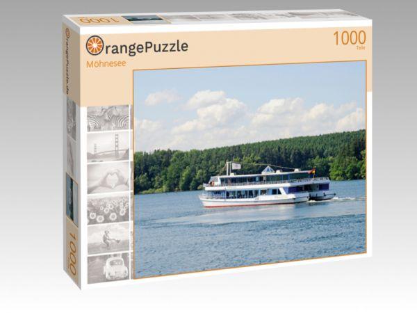 """Puzzle Motiv """"Möhnesee"""" - Puzzle-Schachtel zu 1000 Teile Puzzle"""