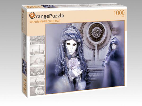 "Puzzle Motiv ""Venezianischer Karneval"" - Puzzle-Schachtel zu 1000 Teile Puzzle"