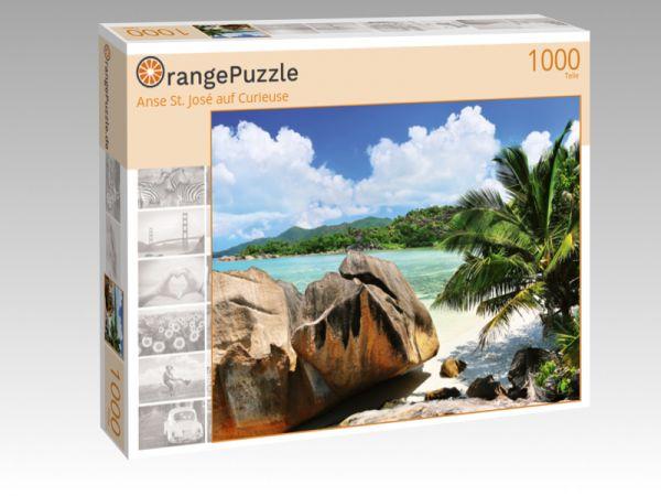 """Puzzle Motiv """"Anse St. José auf Curieuse"""" - Puzzle-Schachtel zu 1000 Teile Puzzle"""