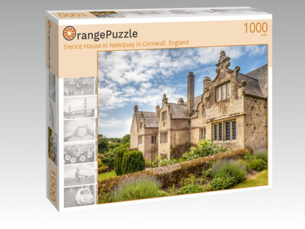 """Puzzle Motiv """"Trerice House in Newquay in Cornwall, England"""" - Puzzle-Schachtel zu 1000 Teile Puzzle"""