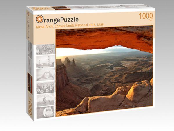 """Puzzle Motiv """"Mesa Arch, Canyonlands National Park, Utah"""" - Puzzle-Schachtel zu 1000 Teile Puzzle"""