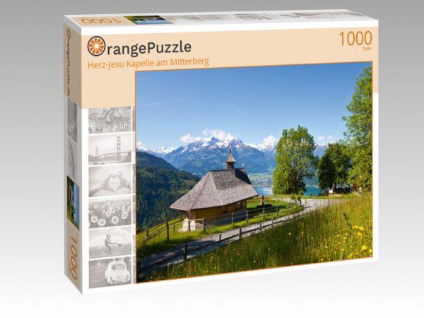"""Puzzle Motiv """"Herz-Jesu Kapelle am Mitterberg"""" - Puzzle-Schachtel zu 1000 Teile Puzzle"""
