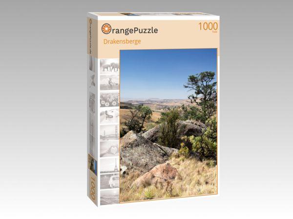 """Puzzle Motiv """"Drakensberge"""" - Puzzle-Schachtel zu 1000 Teile Puzzle"""