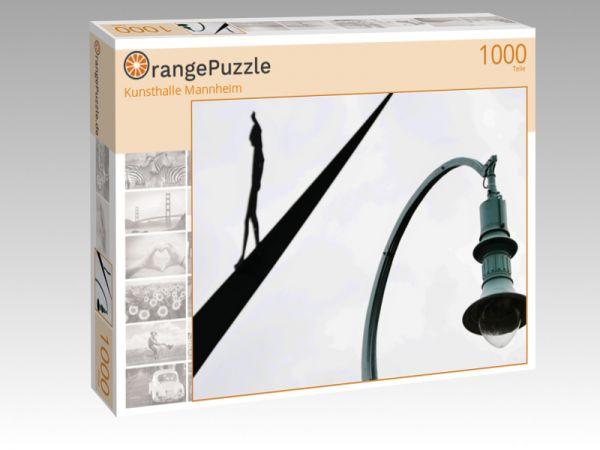 "Puzzle Motiv ""Kunsthalle Mannheim"" - Puzzle-Schachtel zu 1000 Teile Puzzle"