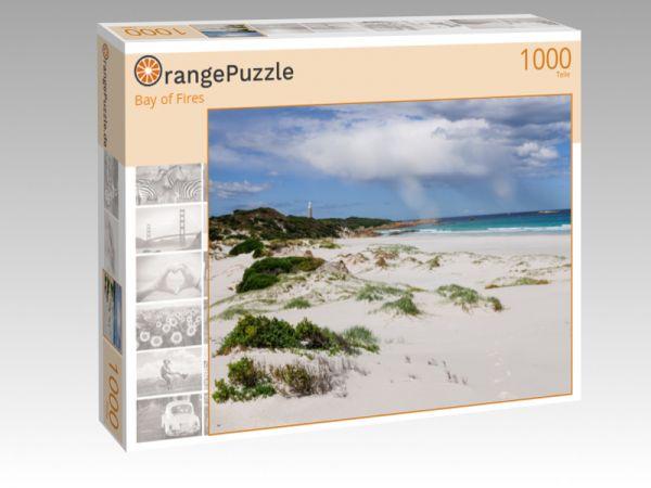"""Puzzle Motiv """"Bay of Fires"""" - Puzzle-Schachtel zu 1000 Teile Puzzle"""