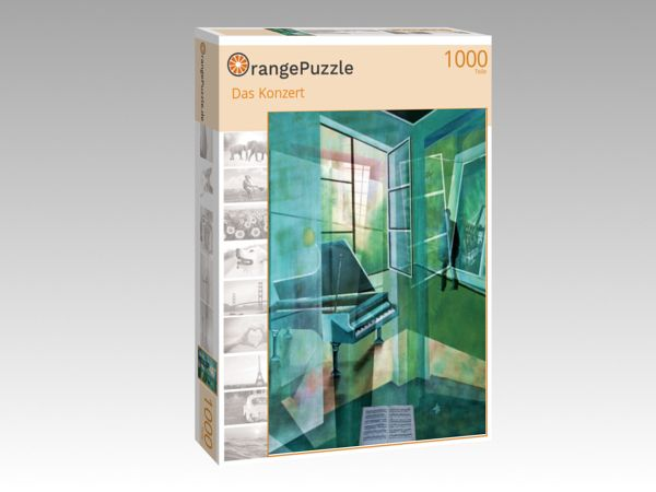 "Puzzle Motiv ""Das Konzert"" - Puzzle-Schachtel zu 1000 Teile Puzzle"