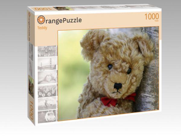 """Puzzle Motiv """"Teddy"""" - Puzzle-Schachtel zu 1000 Teile Puzzle"""