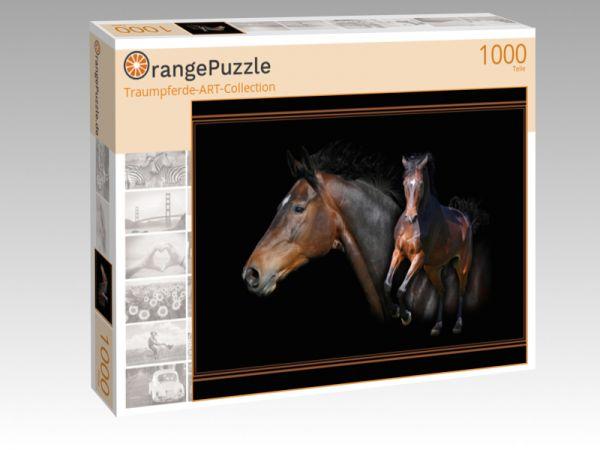 "Puzzle Motiv ""Traumpferde-ART-Collection"" - Puzzle-Schachtel zu 1000 Teile Puzzle"