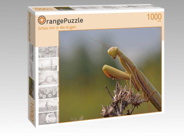 """Puzzle Motiv """"Schau mir in die Augen"""" - Puzzle-Schachtel zu 1000 Teile Puzzle"""