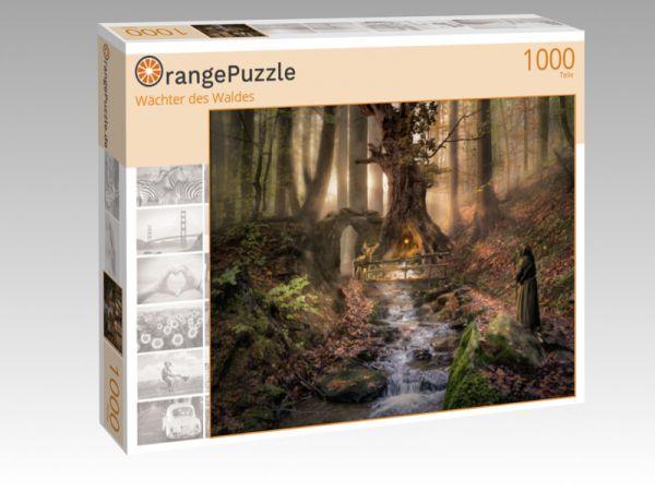 """Puzzle Motiv """"Wächter des Waldes"""" - Puzzle-Schachtel zu 1000 Teile Puzzle"""