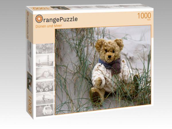 "Puzzle Motiv ""Dünen und Meer"" - Puzzle-Schachtel zu 1000 Teile Puzzle"