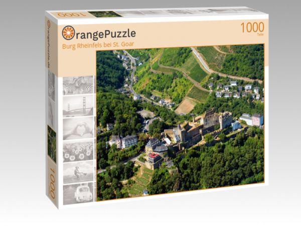 """Puzzle Motiv """"Burg Rheinfels bei St. Goar"""" - Puzzle-Schachtel zu 1000 Teile Puzzle"""