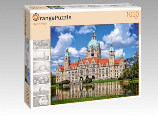 """Puzzle Motiv """"Hannover"""" - Puzzle-Schachtel zu 1000 Teile Puzzle"""