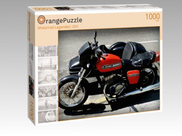 "Puzzle Motiv """"Motorrad-Legenden: IZH"""" - Puzzle-Schachtel zu 1000 Teile Puzzle"