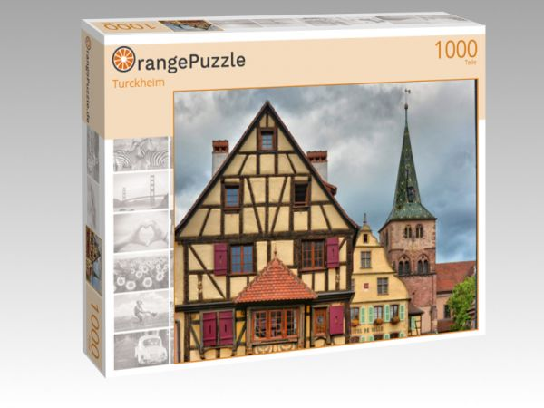 """Puzzle Motiv """"Turckheim"""" - Puzzle-Schachtel zu 1000 Teile Puzzle"""