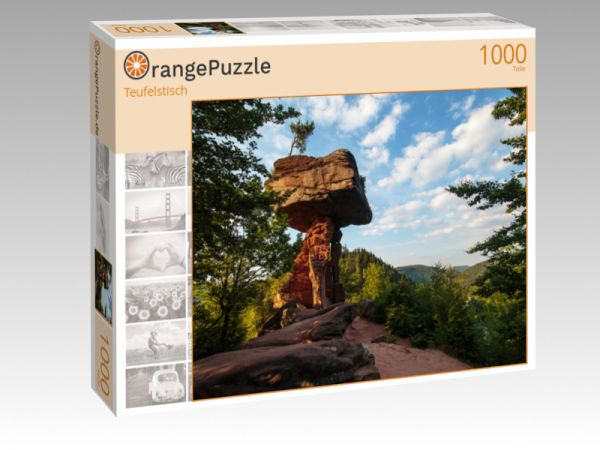 "Puzzle Motiv ""Teufelstisch"" - Puzzle-Schachtel zu 1000 Teile Puzzle"