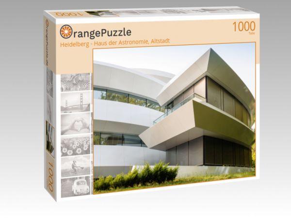 "Puzzle Motiv ""Heidelberg - Haus der Astronomie, Altstadt"" - Puzzle-Schachtel zu 1000 Teile Puzzle"