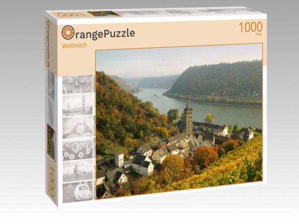 """Puzzle Motiv """"Wellmich"""" - Puzzle-Schachtel zu 1000 Teile Puzzle"""