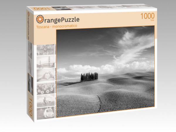 """Puzzle Motiv """"Toscana - monocromatico"""" - Puzzle-Schachtel zu 1000 Teile Puzzle"""