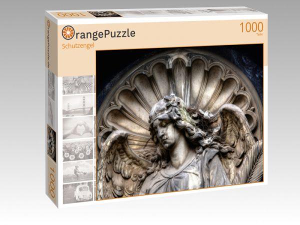 "Puzzle Motiv ""Schutzengel"" - Puzzle-Schachtel zu 1000 Teile Puzzle"