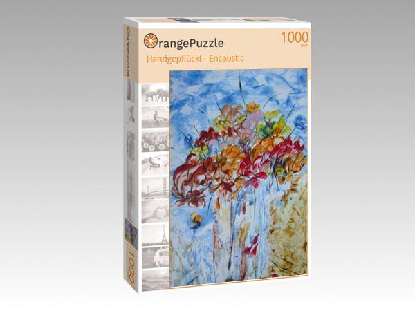 """Puzzle Motiv """"Handgepflückt - Encaustic"""" - Puzzle-Schachtel zu 1000 Teile Puzzle"""