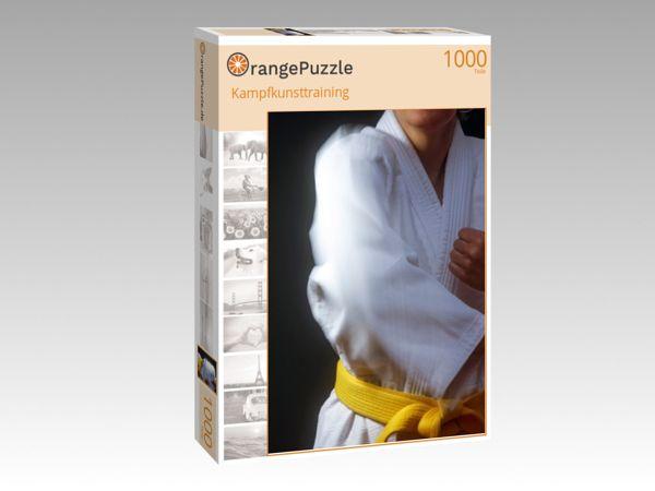 "Puzzle Motiv ""Kampfkunsttraining"" - Puzzle-Schachtel zu 1000 Teile Puzzle"
